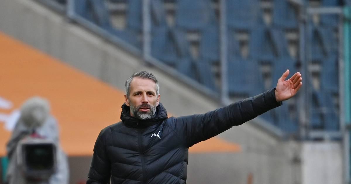 Borussia Mönchengladbach droht Umgemach: Unruhe um Marco Rose und Hammerspiele vor der Brust - RP ONLINE