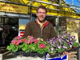 Seit Montag wieder geöffnet: Schleppender Start in Grevenbroicher Gartencentern