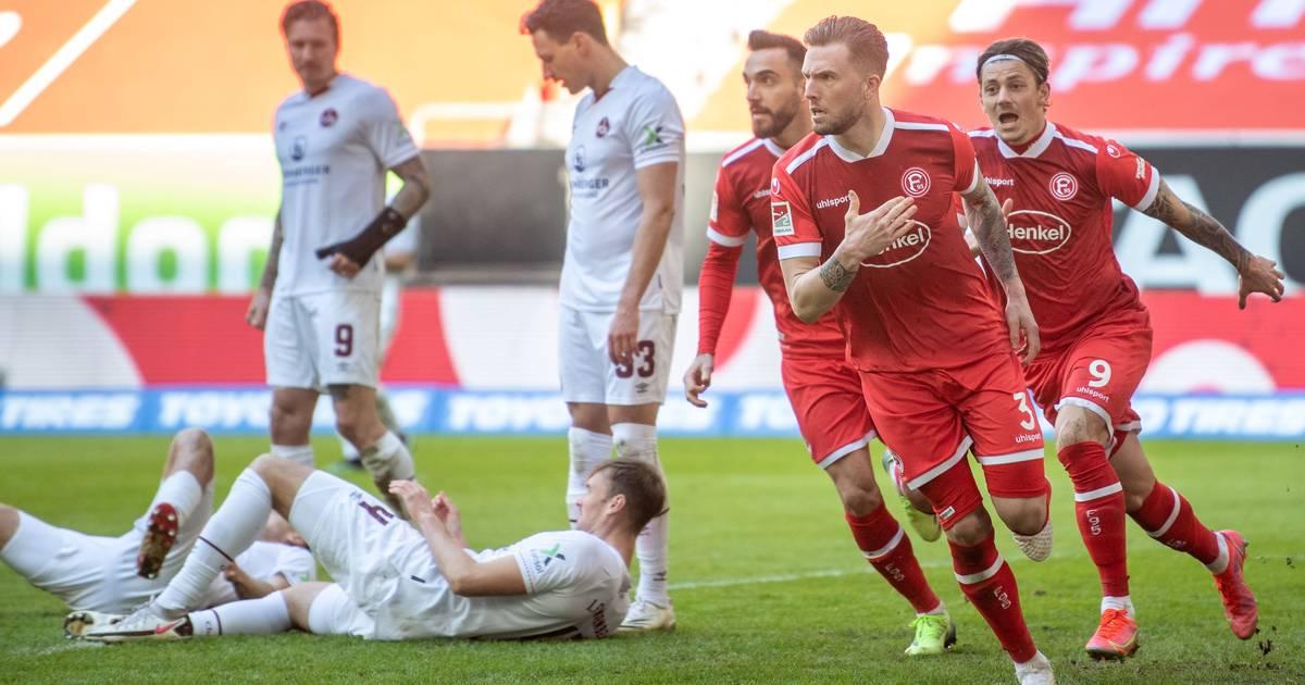 Fortuna Düsseldorf muss 3:1 gegen Nürnberg mit Verletzung von Thomas Pledl teuer bezahlen - RP ONLINE