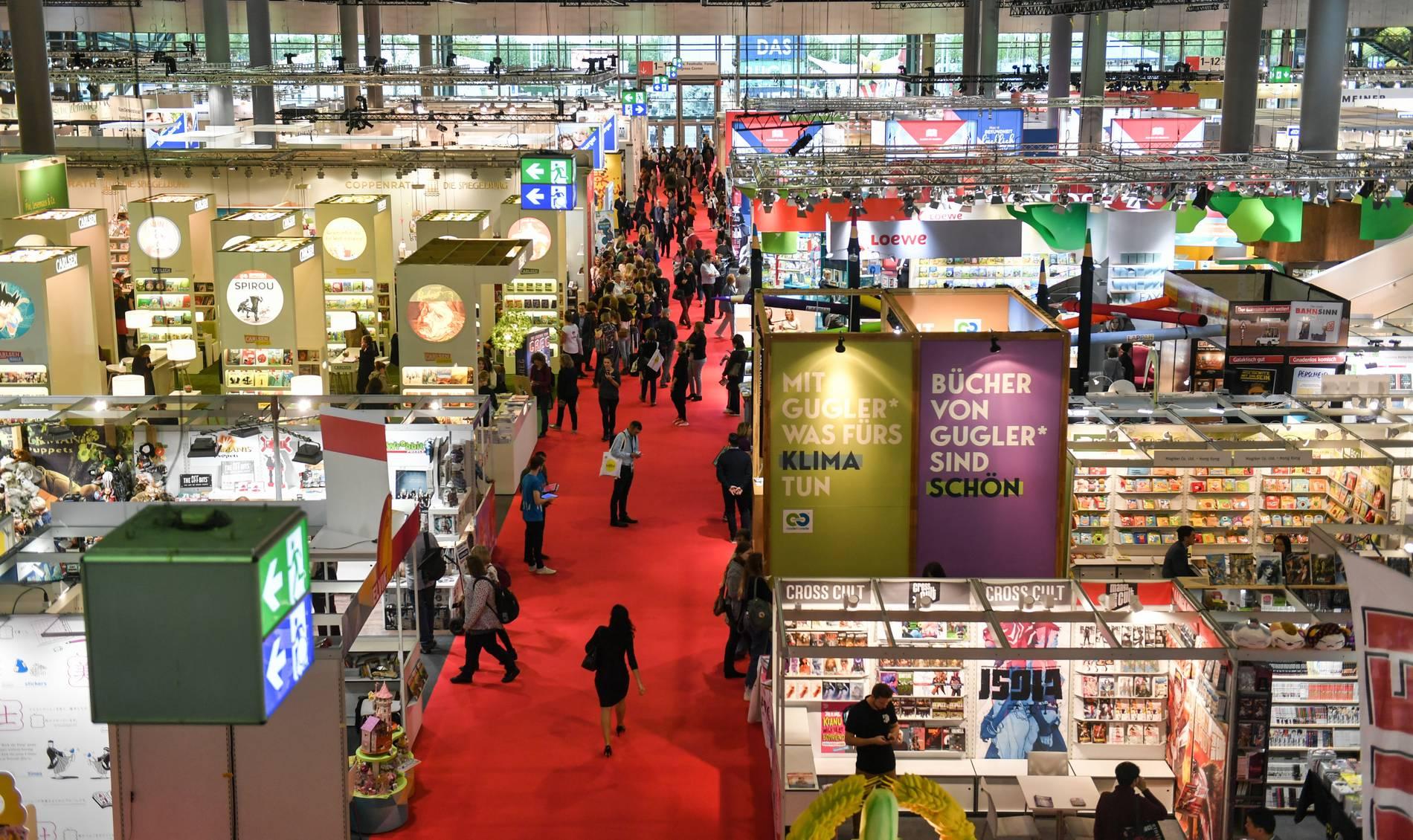 Frankfurter Buchmesse 2021: Soll im Oktober wieder als ...