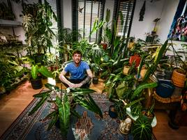 Moritz Gruber aus Kleve: Der Dschungel im Wohnzimmer