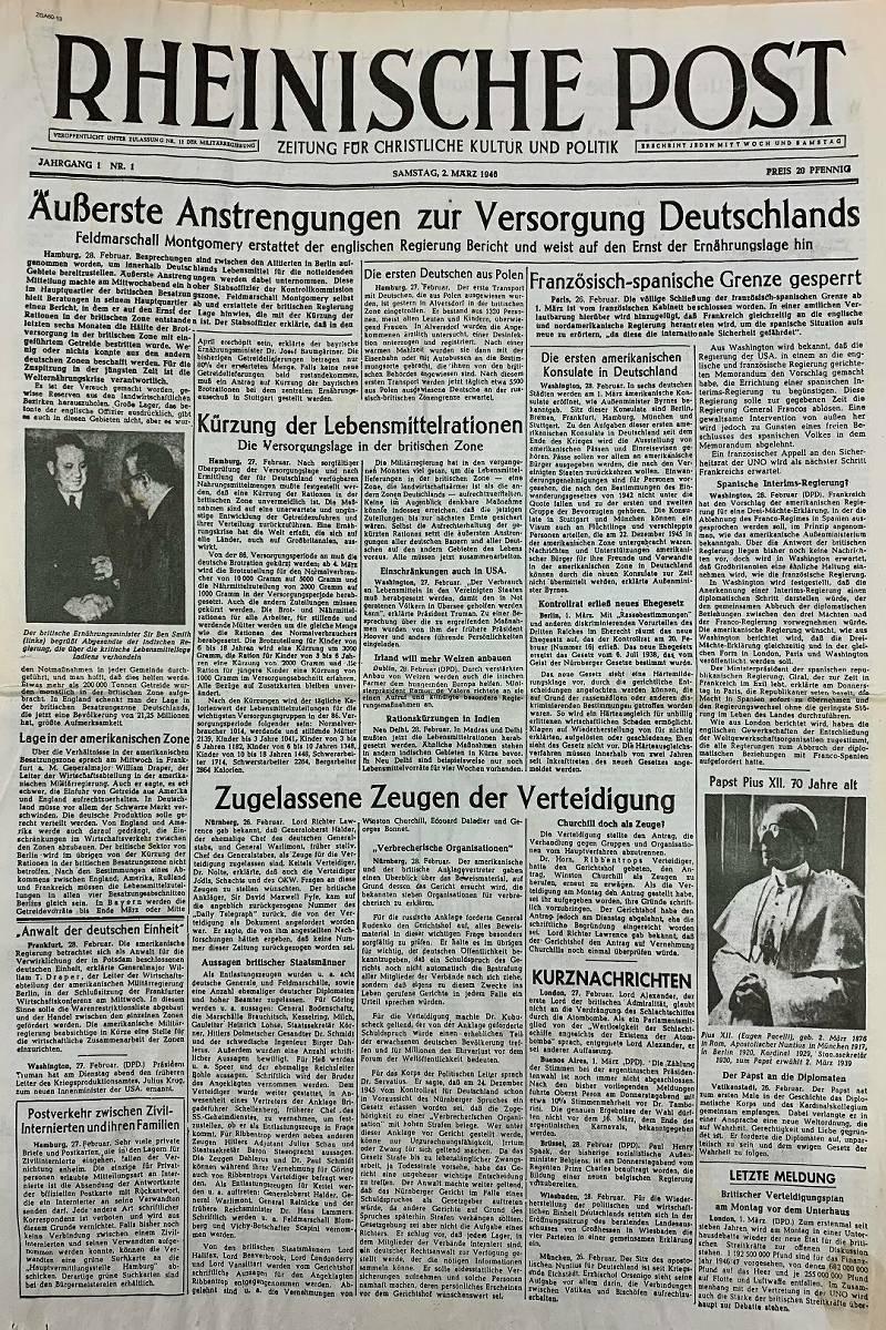 20+ 8 Jahre Rheinische Post Die Geburtsstunde der RP am Niederrhein Fotos