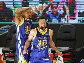 Bester Werfer der Warriors: Curry übertrumpft NBA-Legende