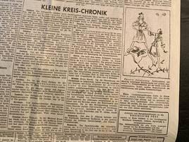 Zeitungsgeschichte im Gelderland: Darüber schrieb die RP vor 75 Jahren