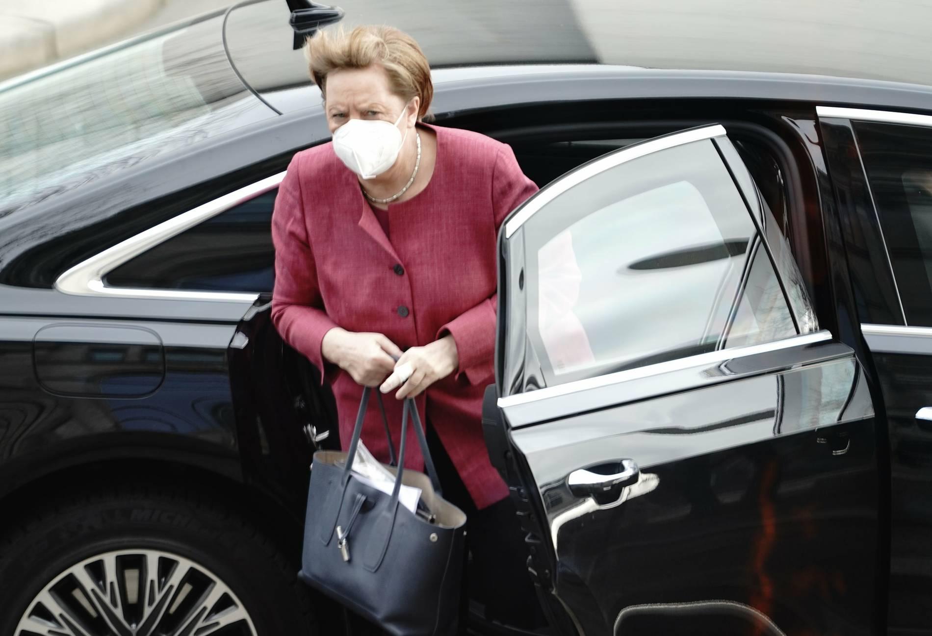 Bundeskanzlerin Angela Merkel (66) mit AstraZeneca geimpft: