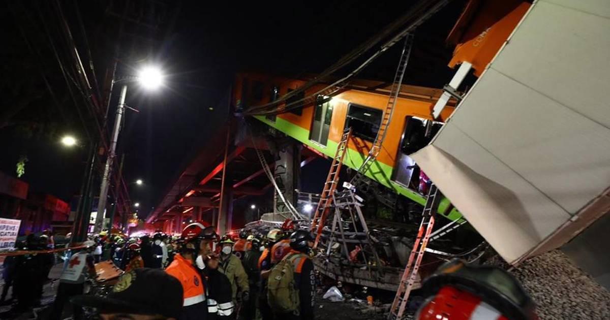 49 Menschen verletzt: 20 Tote bei Einsturz einer U-Bahn-Brücke in Mexiko-Stadt