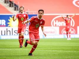 3:0 gegen Aue: Fortuna geht als trauriger Sieger vom Platz