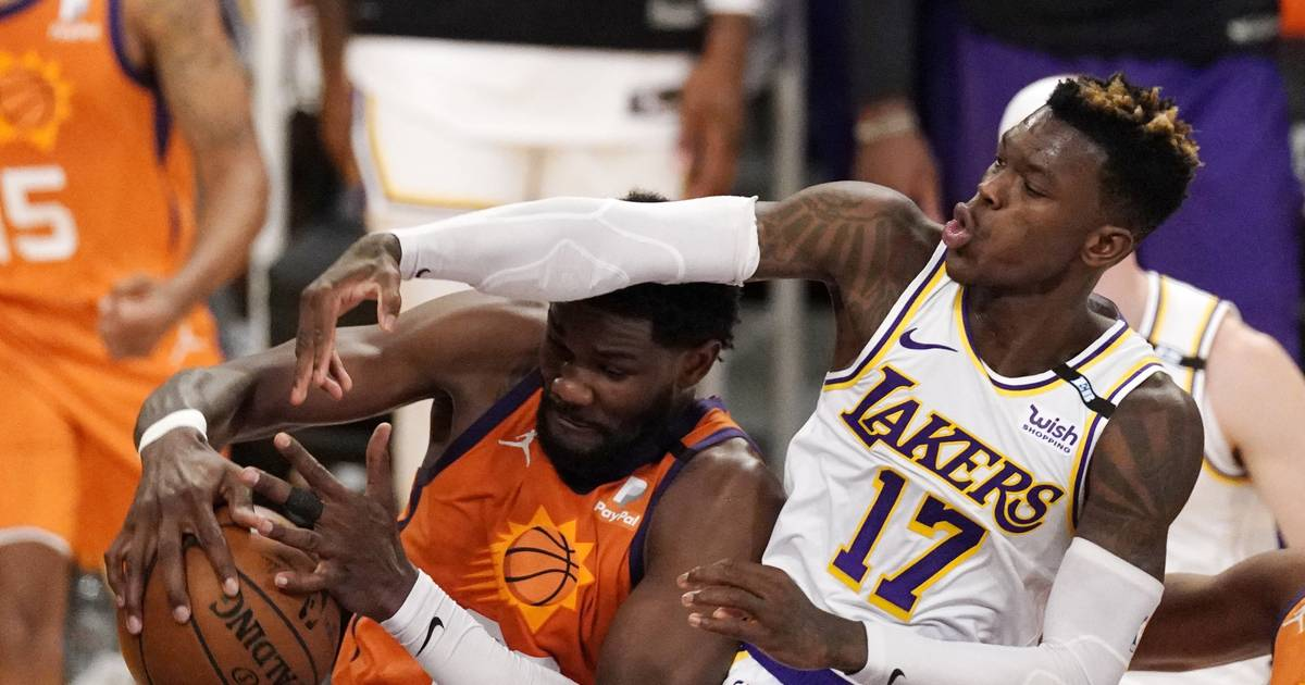 Phoenix Suns equalize against the Los Angeles Lakers