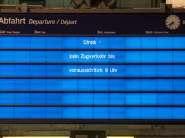 Zugausfälle drohen: Lokführergewerkschaft beschließt Bahnstreik
