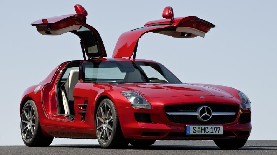 der neue mercedes sls amg fl gelt rer. Black Bedroom Furniture Sets. Home Design Ideas