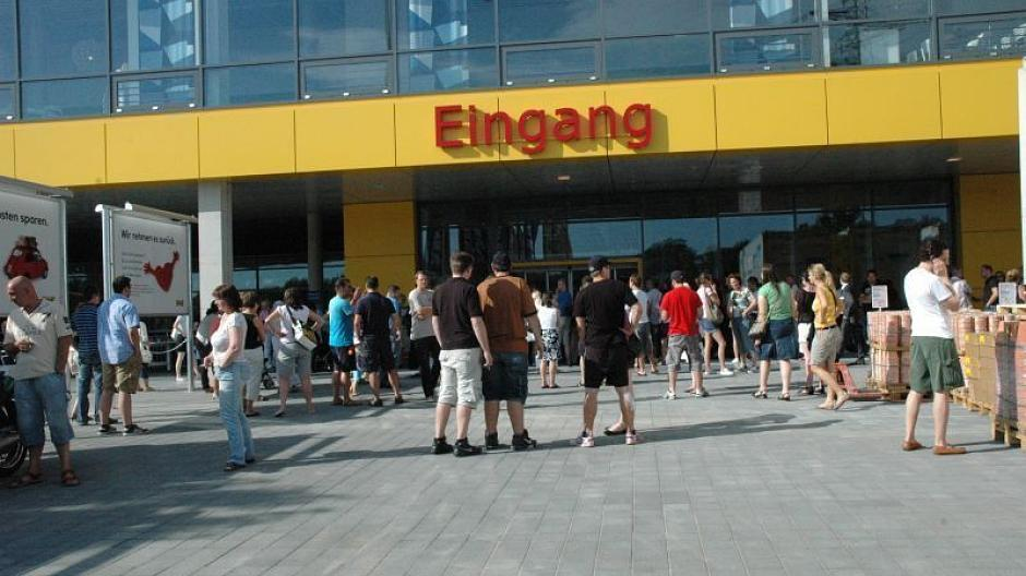Ikea Wiedereröffnung