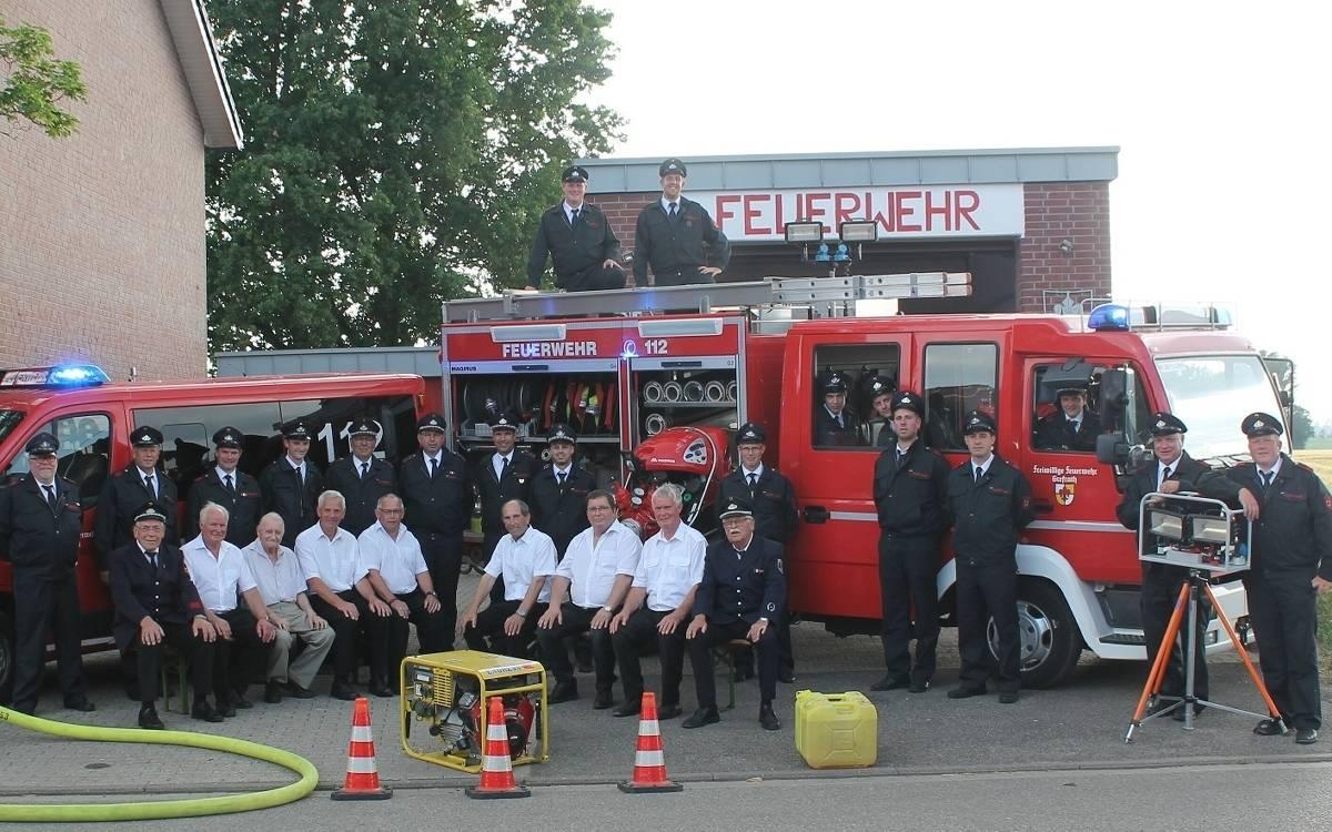 Freiwillige Feuerwehr Vinkrath feiert 8 jähriges Jubiläum