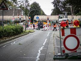 Autofahrer fahren trotzdem herein: Bergheimer Straße in Grevenbroich ist jetzt eine Sackgasse