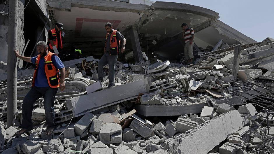 Gazastreifen: Israel fliegt in der Nacht neue Luftangriffe