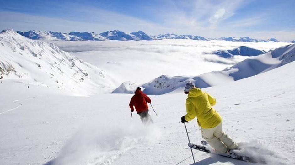 Skifahren Damen Heute