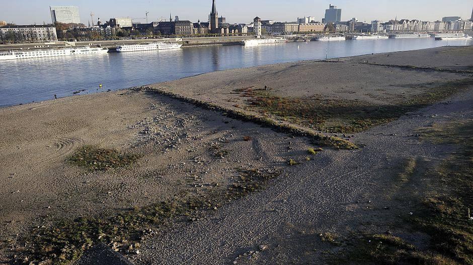 Pegelstand Rhein