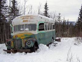"Alaska: Legendärer Bus aus ""Into the Wild"" kommt ins Museum"