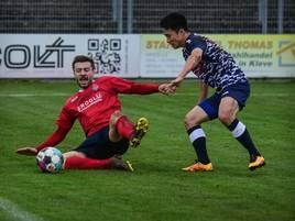 Fußball-Oberliga: 1.FC Kleve verbessert sich auf Platz drei
