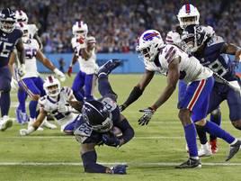 Drei Touchdowns vom Star: Henry und Titans beenden Siegesserie der Buffalo Bills in NFL