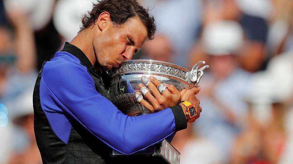 Rafael Nadal Bilder Seiner 17 Grand Slam Titel