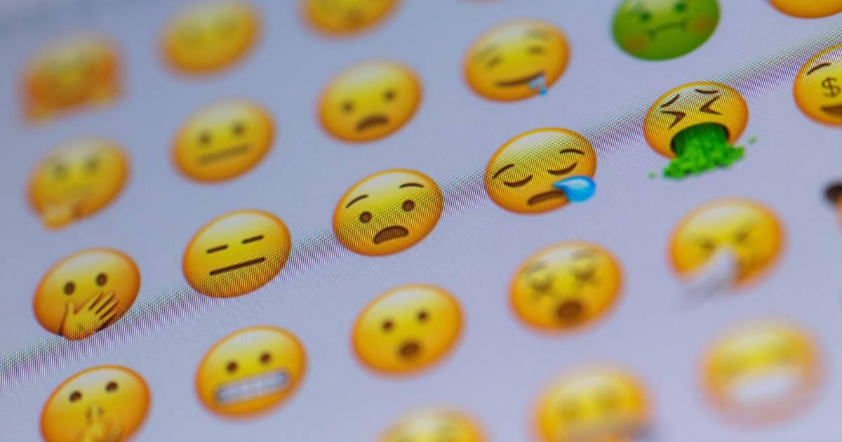 Online-Dating-Smiley-Gesichter