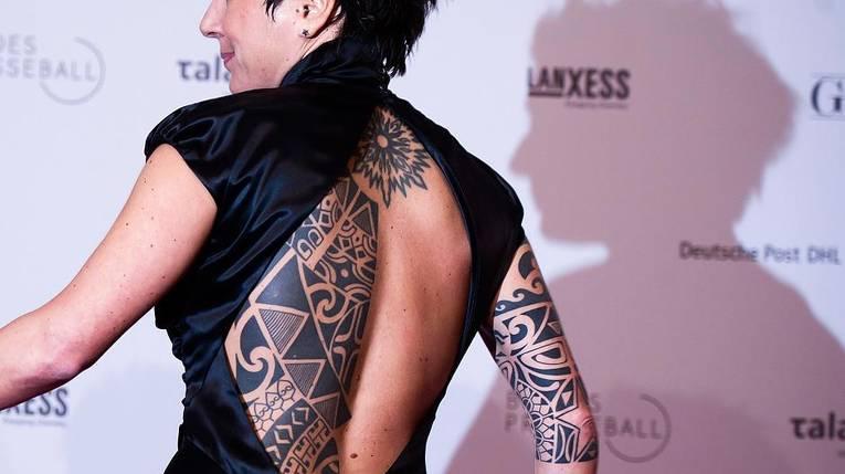 Dunja Hayali Tattoos