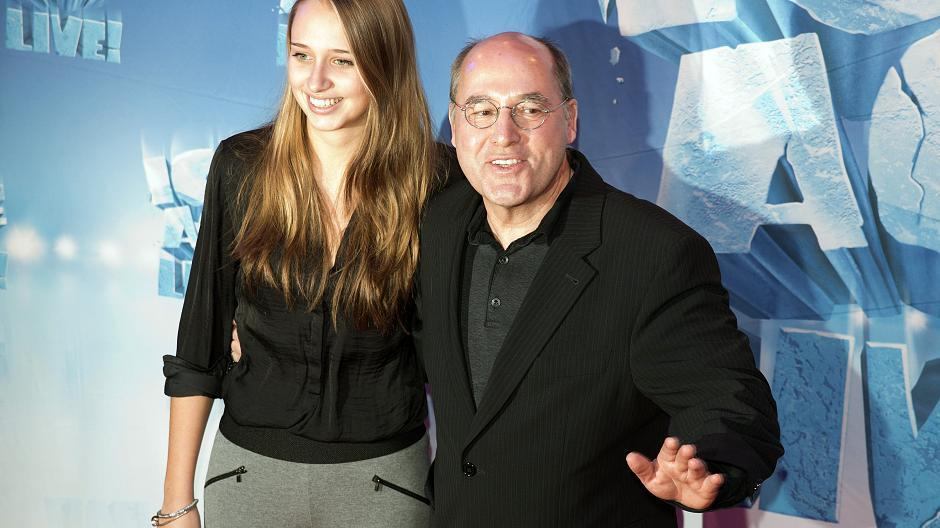 Anna Gysi brachte Papa Gregor mit