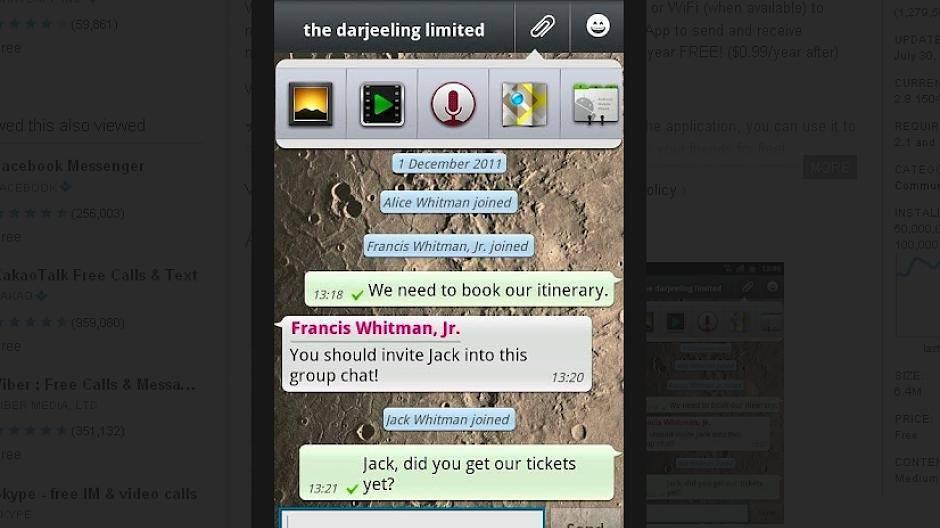 Kostenlose Online-Dating-Instant-Messaging-Nutzung
