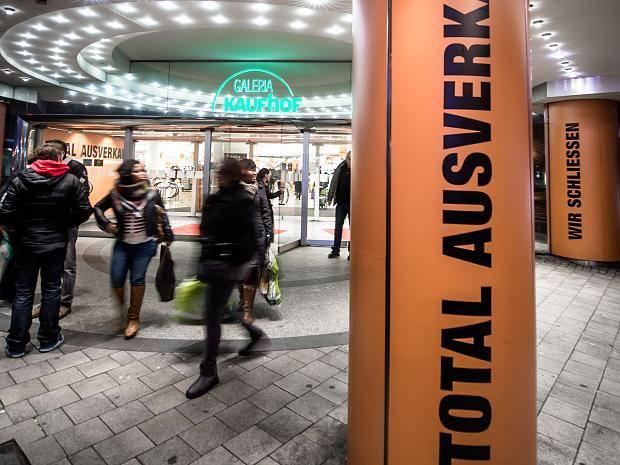 Düsseldorf Die Letzte Stunde Im Galeria Kaufhof Berliner Allee