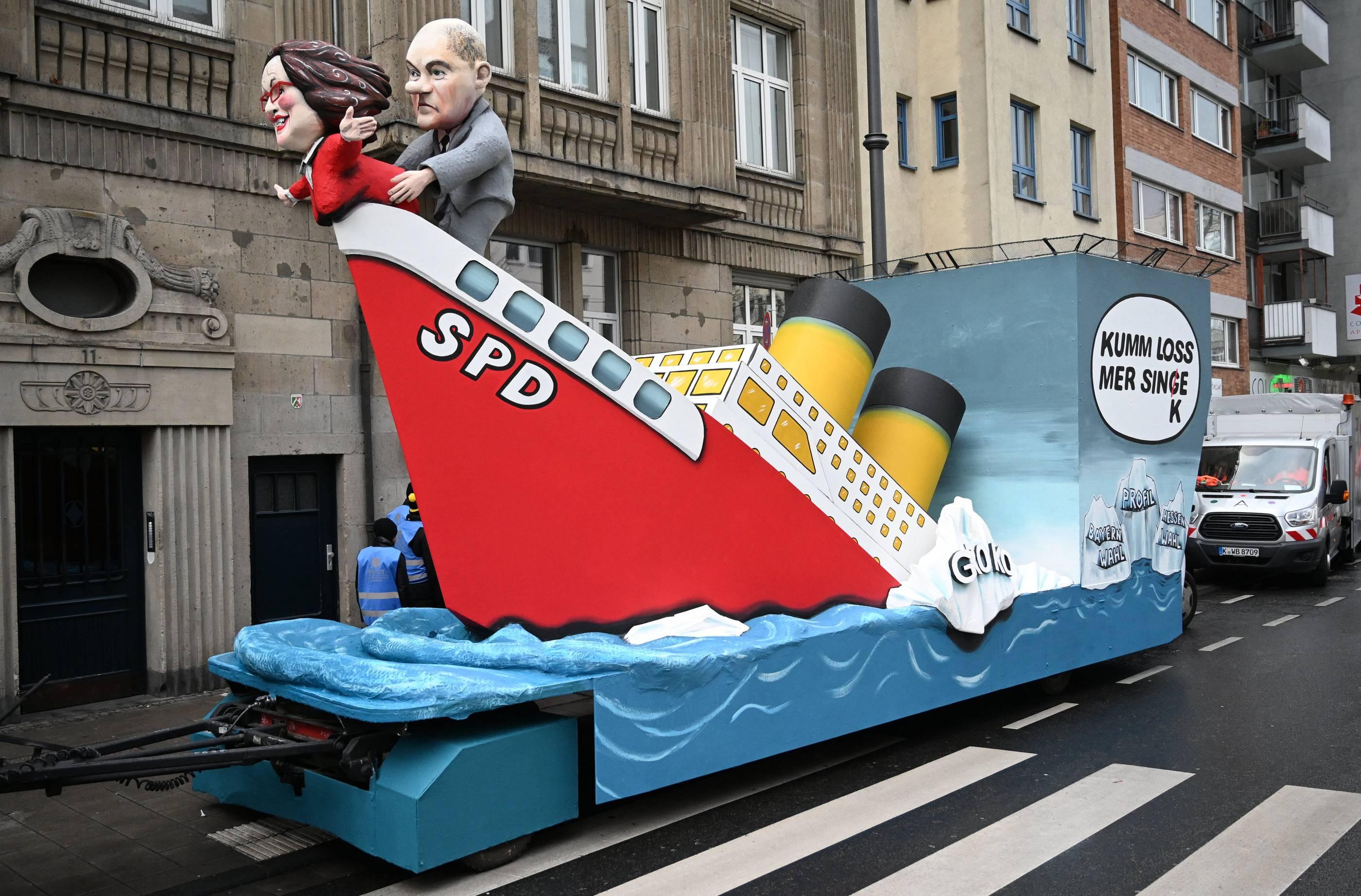 Köln Karnevalswagen