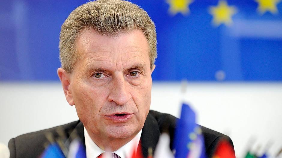 Politiker Oettinger
