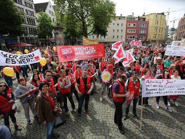 Kita Streik In Köln