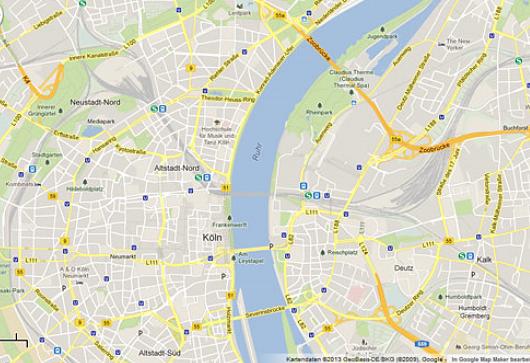 Google Maps: Kuriose Fehler des Kartendienstes