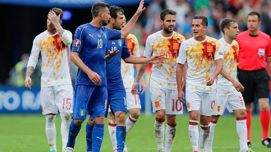 Italien Spanien Em