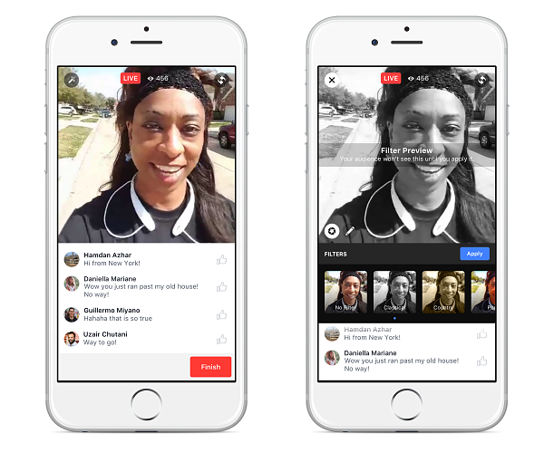 Streaming-Funktion: Facebook Live für alle User freigeschaltet