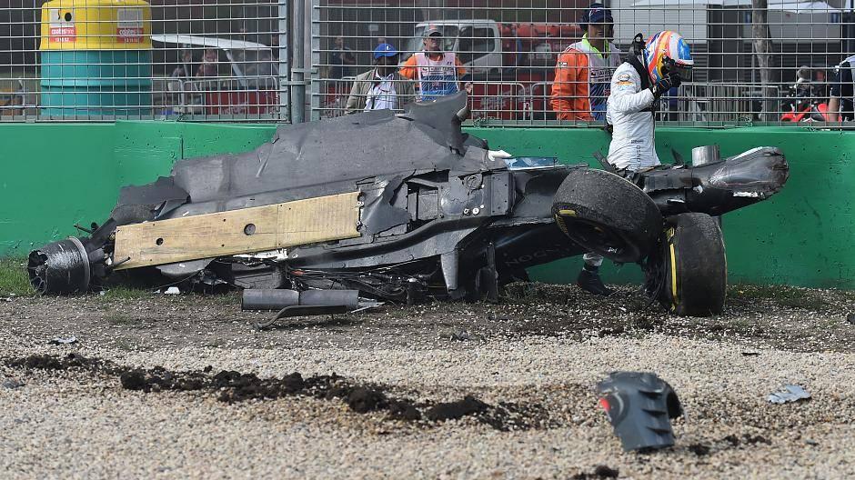 Unfall Bei Der Formel 1
