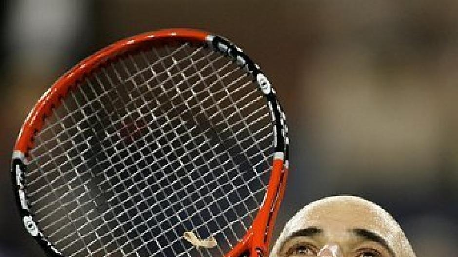 Andre Agassi Krank