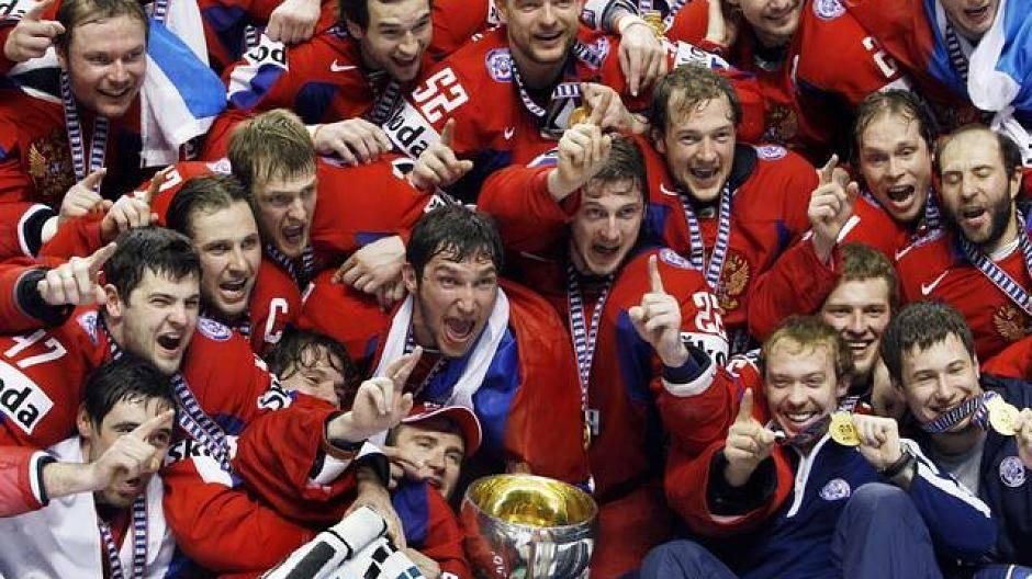 Kanada Russland Eishockey