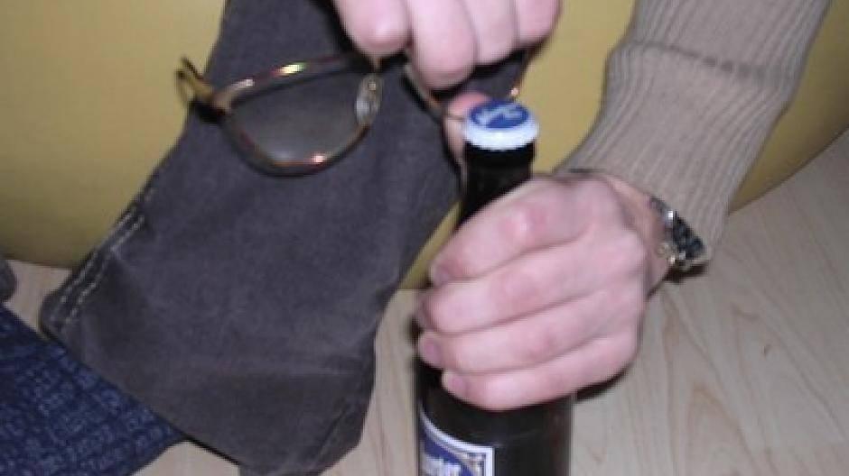 bierflasche öffnen ohne flaschenöffner