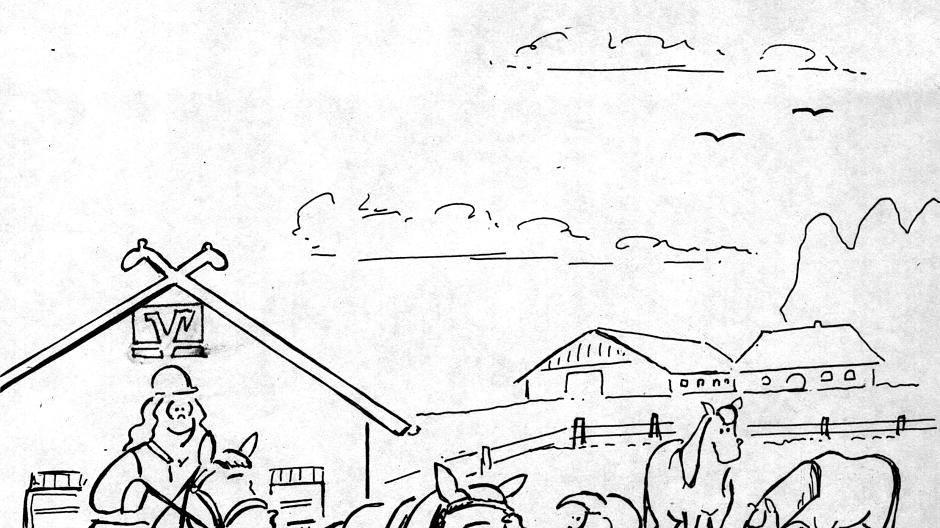 ausmalbilder ponyhof