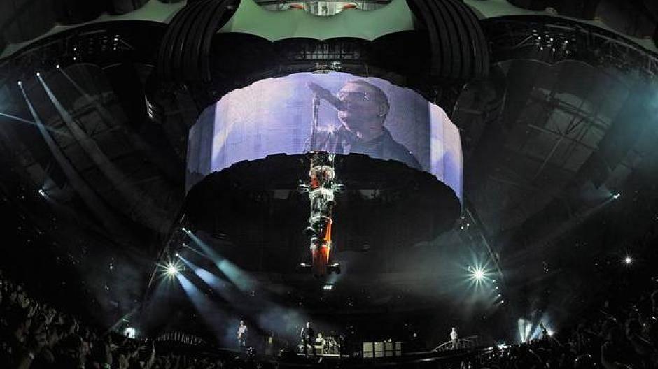 Konzert zum Mauerfall: 10.000 Fans bei U2 am Brandenburger Tor