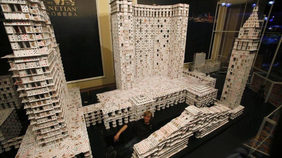 Größte Kartenhaus Der Welt