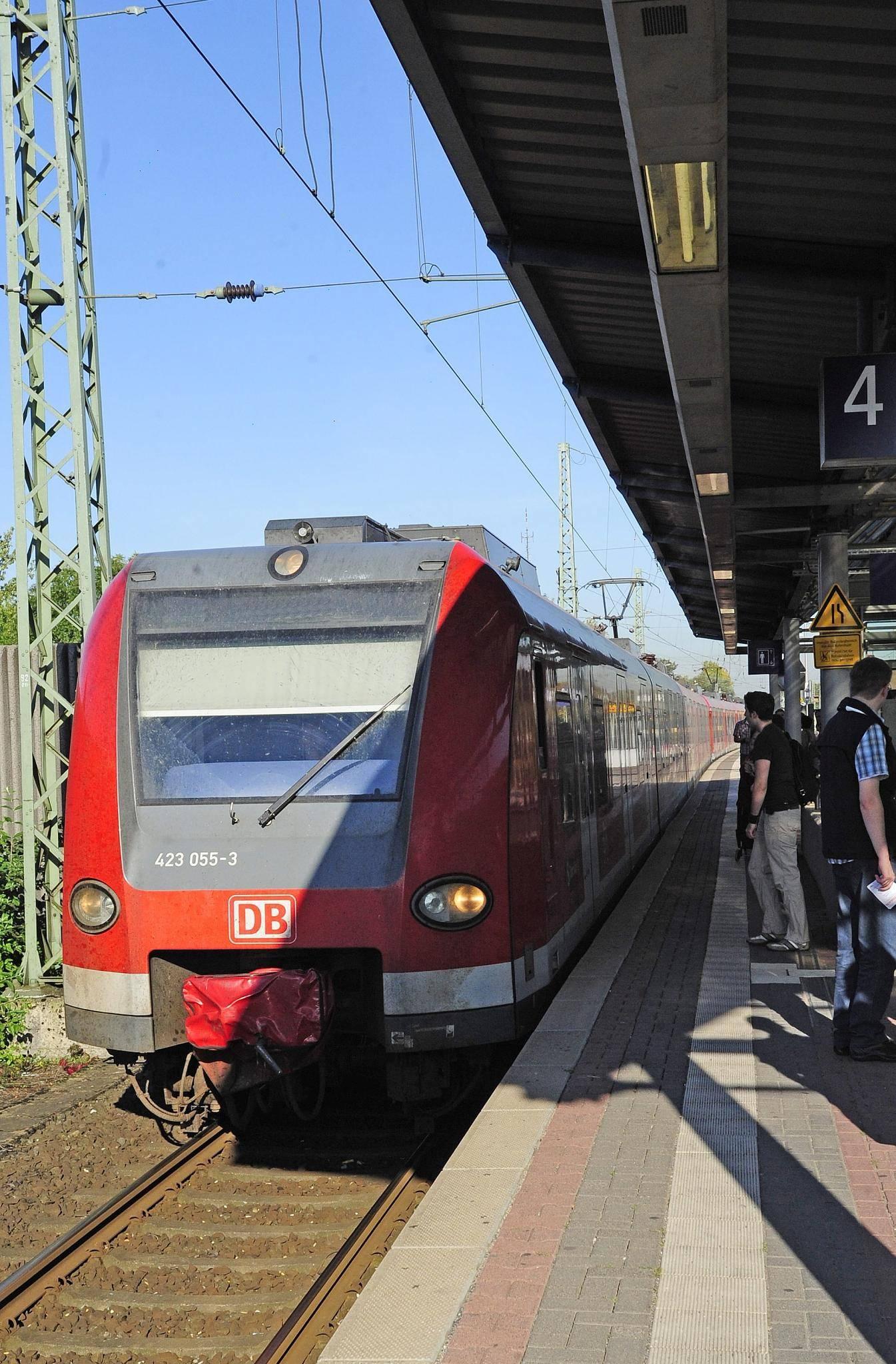 S Bahn Dormagen