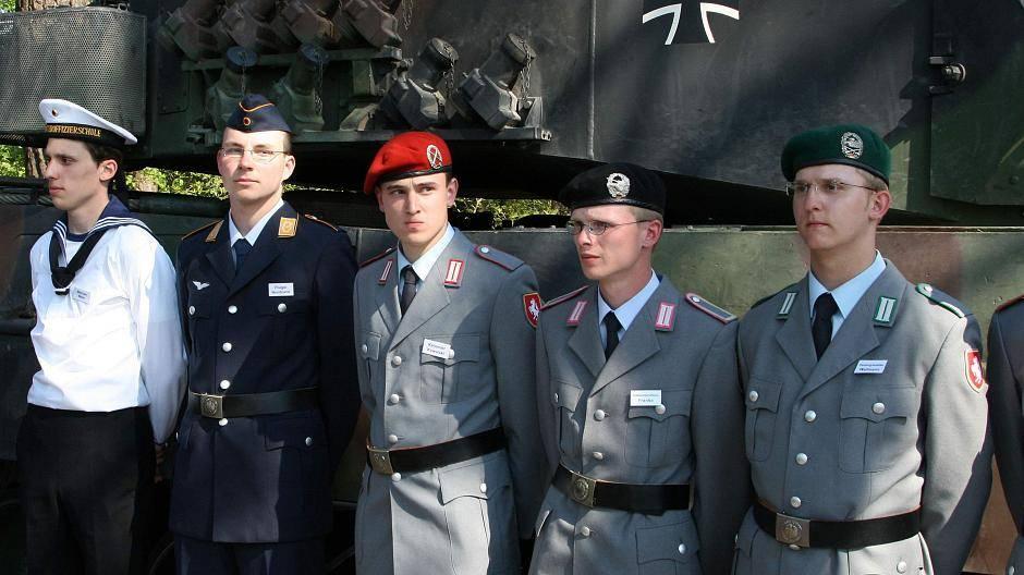 Neue Paradeuniform Bundeswehr