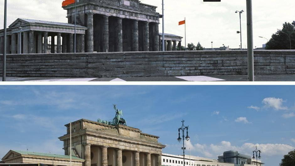Berlin Damals Und Heute