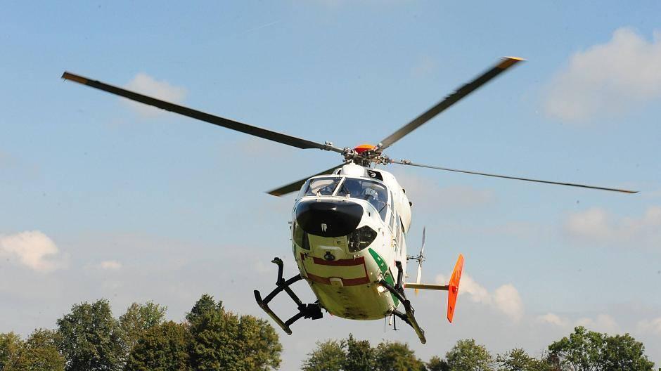 Hubschrauber über Kaarst