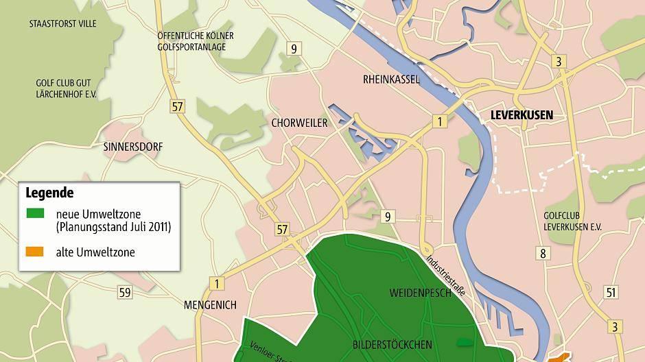 Umweltzone Leverkusen