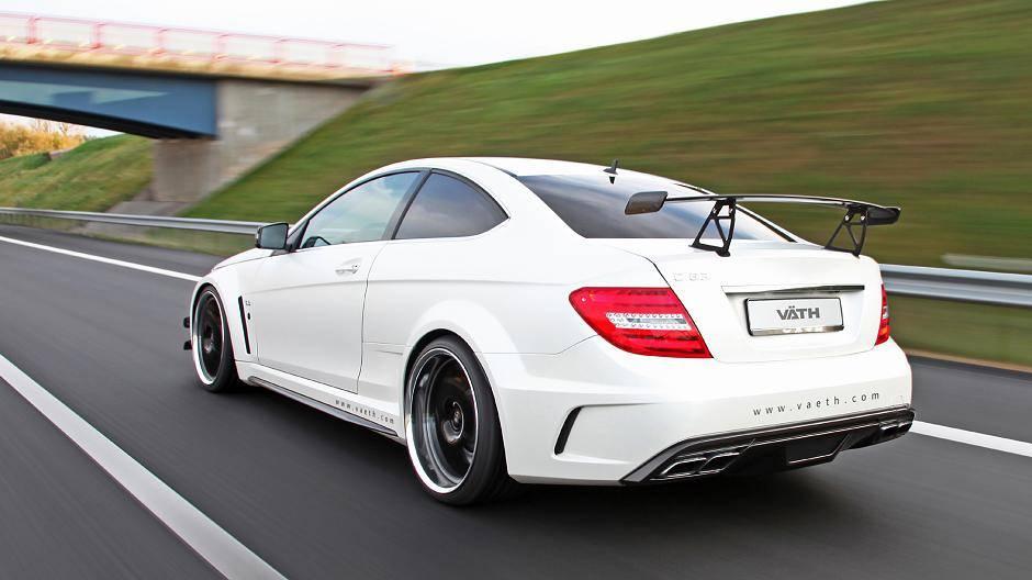 Tuning: Väth brezelt Mercedes C63 AMG Black Series auf