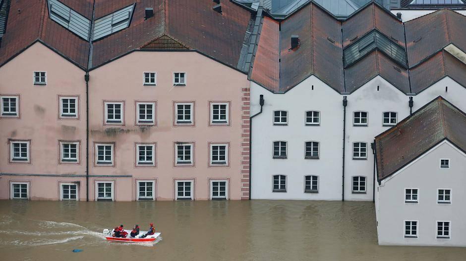 Hochwasser passau 2020