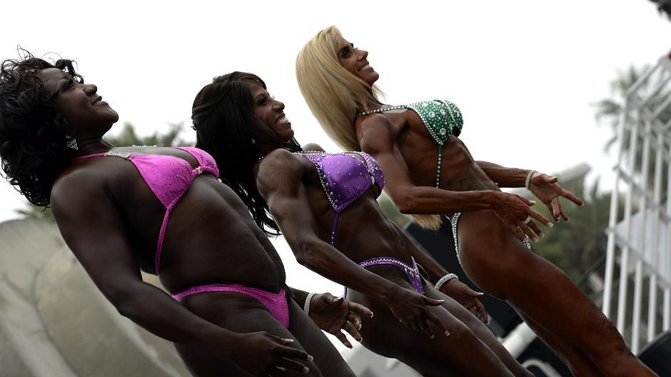 Bodybuilding frau treffen